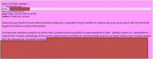 ! Chcą międzynarodowego egzorcyzmu nad ks. Adamem Skwarczyńskim