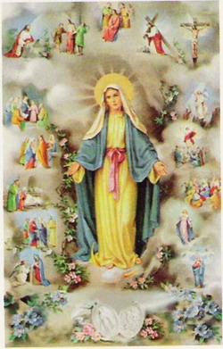 Znalezione obrazy dla zapytania Październik - miesiąc poświęcony Matce Bożej Różańcowej