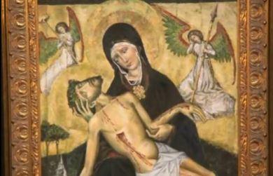 Obraz Matki Bożej Bolesnej w Mierzynie