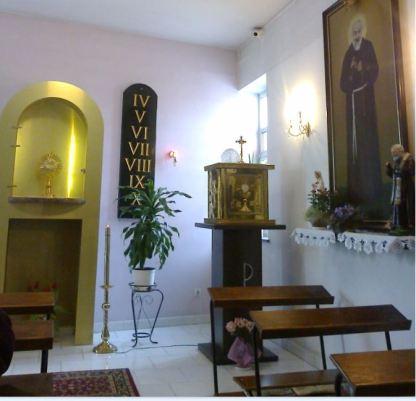 kaplica św O Pio