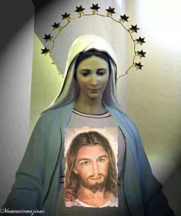 NMP i Jezus Miłosierny