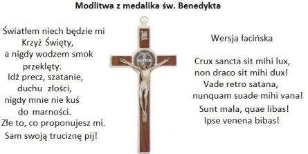 modlitwa św. Benedykta