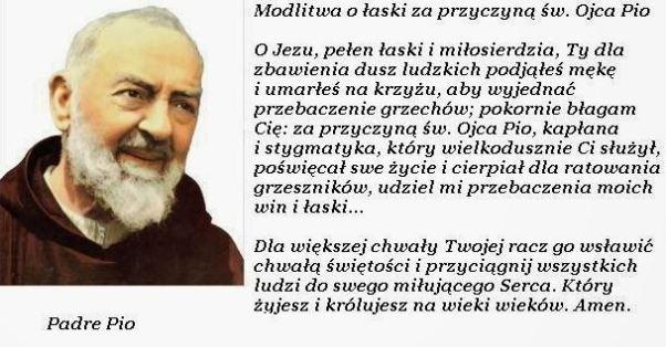 modlitwa o Pio