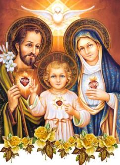 św. Józef z Rodziną
