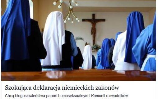Niemieckie zakony o homo i rozwodnikach