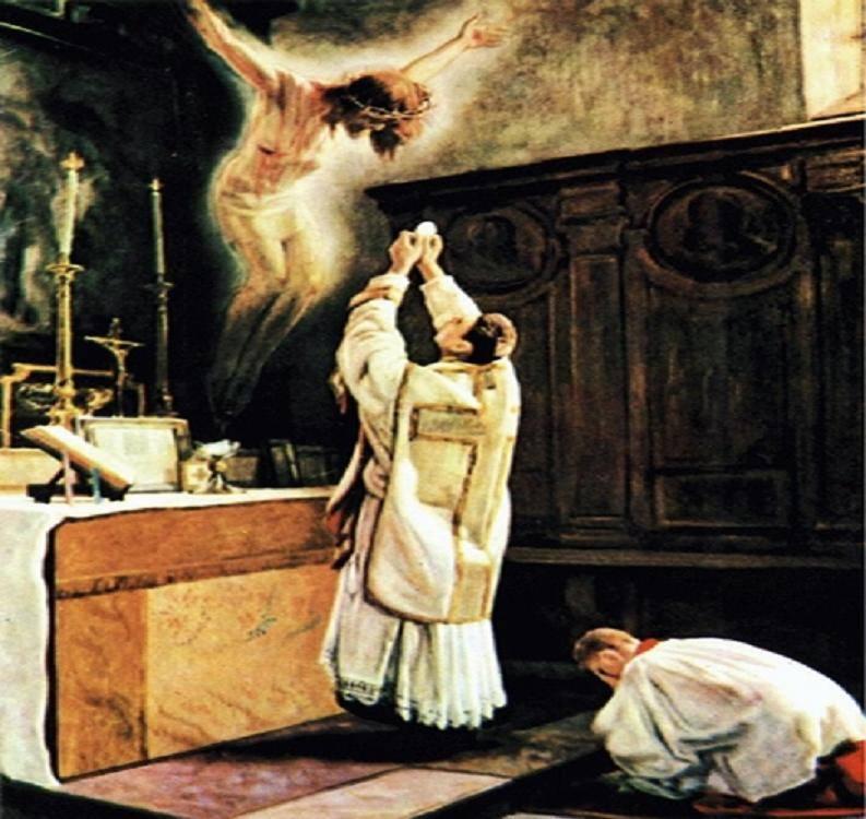 Znalezione obrazy dla zapytania msza święta tradycja katolicka