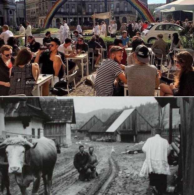 dziś i wczoraj