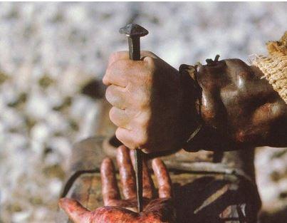 Przybicie do krzyża