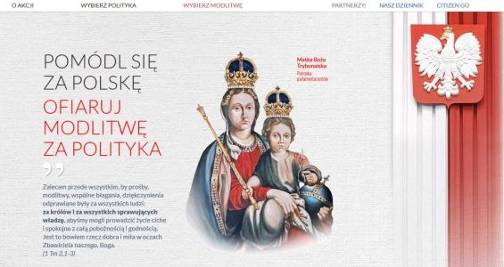 Modlitwa za Polskę