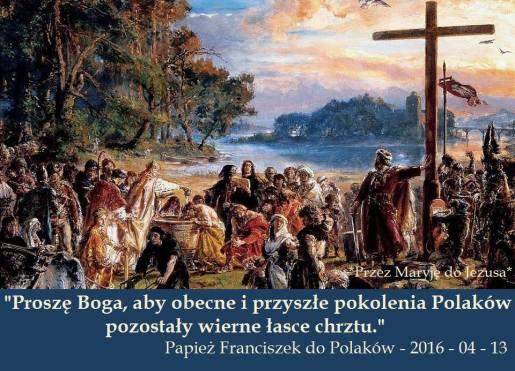 Papież  do Polakow