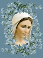 Gospa w kwiatach