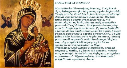 MBNP modlitwa za chorego