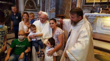 Padre Jarek i Papież Franciszek