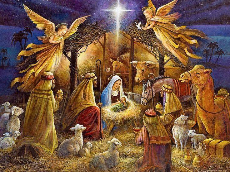 Znalezione obrazy dla zapytania narodzenie JEzusa