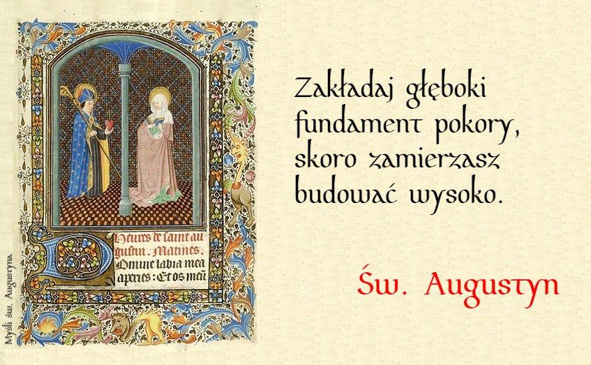 św Augustyn I Jego Złote Myśli W Obronie Wiary I Tradycji